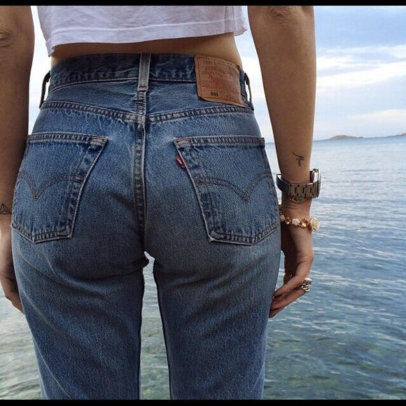 Levi s Denim - LEVI S - Vintage Women s 501 Jeans W29 L30 686b787b98a3